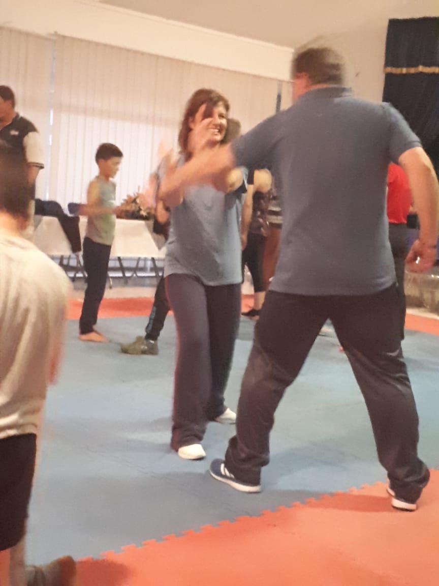 Selfverdediging klasse skop af in Lichtenburg