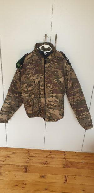 Bush Jacket unpadded _ Recon Camo