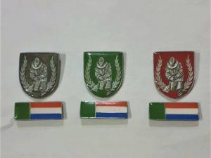 BL Metal Beret badges