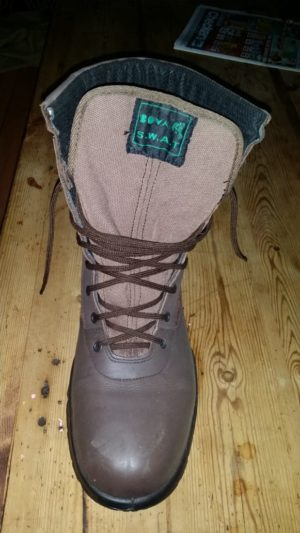 Boots Bova SWAT- Brown