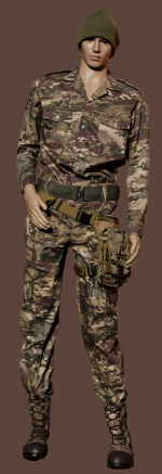 Trousers – Recon Camo