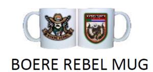 Boere Rebel Mug