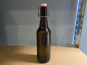 Swing Top 500ml Amber Beer Bottle