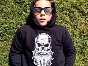 Bearded Skull hoodie