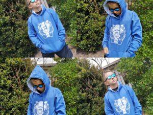 Monkey Skateboard hoodie