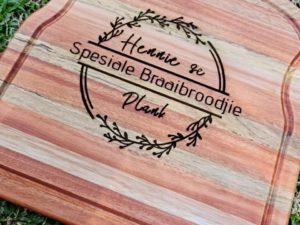 Braaibroodjie plank